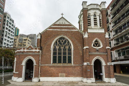 fototapeta na ścianę St Andrew's Church is an Anglican church built in 1904, located in Nathan Road, Kowloon, Hong Hong