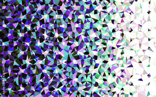 Naklejka Triangular  low poly, mosaic pattern background, Vector polygonal illustration graphic, Origami style with gradient