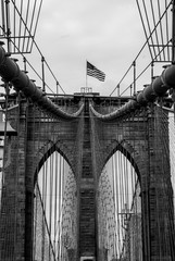 Brooklyn Bridge Structure - Perfect Symmetry