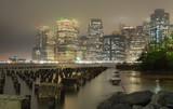 New York Manhattan di sera