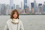 Donna con SkyLine New York © Gianfranco Bella