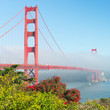 One of the symbol of San Francisco is the Golden Gate Bridge.