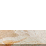 Stone marble on isolated white background with space. - 234065702