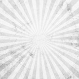 White and gray sunburst vintage and pattern background with space. - 234065923