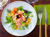 Delicious ceviche with salmon - 234120341