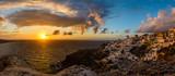 Santorini Sunset Panorama