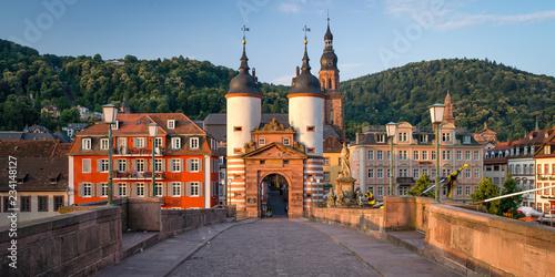 Alte Brücke in Heidelberg, Baden-Württemberg, Deutschland