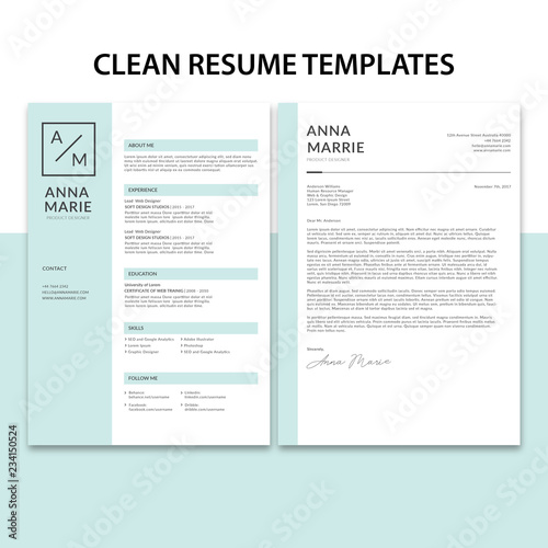 Advanced Search X Clean Resume Templates