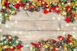 Christmas ornaments stars decorations light garland vintage