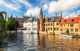 Bruges at day, Belgium historical city - 234228163