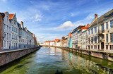 Bruges at day, Belgium historical city - 234228168