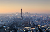 Eiffel tower in Paris at sunset - cityscape - 234228556