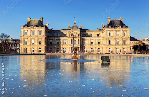 Luxembourg Palace in Jardin du Luxembourg, Paris, France - 234228567