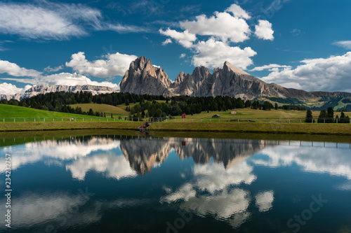 Val Gardena, Dolomiti, Sassolungo