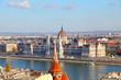 Leinwanddruck Bild - The beauties of Budapest