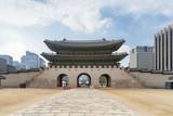 Wonderful view of Gwanghwamun Gate in Seoul, South Korea - 234241740