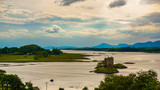 View of Stalker castle, Scotland