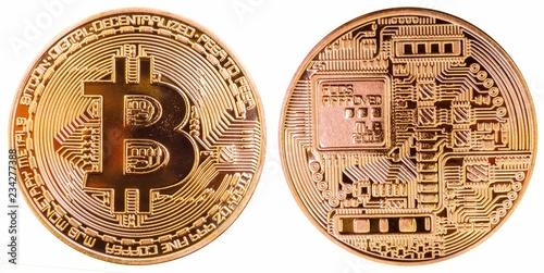 Leinwandbild Motiv Bitcoin