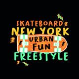 new york skateboard urban designs kids apparel