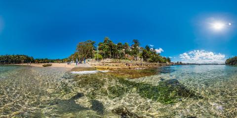 360 of beach in Sydney