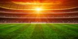 Green soccer stadium © Alekss