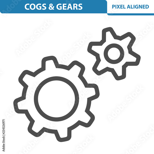 Cogs & Gears Icon