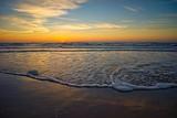 Sonnenuntergang an der Nordsee, Dänemark