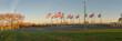 Flags at Half Mast , Statue of Liberty Flag Plaza