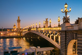 Pont Alexandre III in Paris, Frankreich © eyetronic