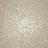 Vintage pattern with lot detailed flourish elements
