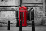 Red telephone booth n London, England, the UK © Mike Fouque