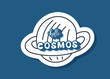 Vector quote of Hello Cosmos with decoration. - 234533914