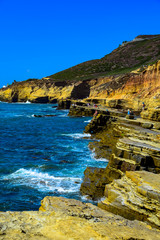 Coastline of the Cabrillo National Monument in San Diego, California © Euskera Photography