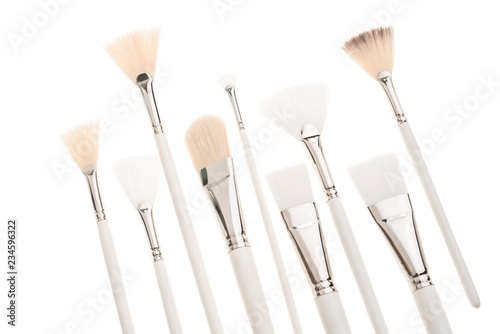 Make up brushes isolated view - 234596322