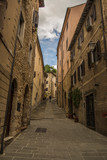 Massa Marittima , Italy - street in the city © luca