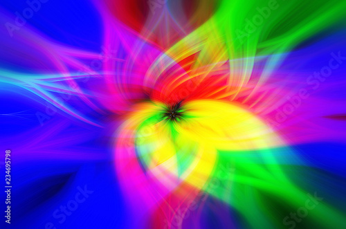 Leinwandbild Motiv Colorful abstract background close-up flower,blue, pink, white