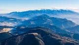 A wonderful panorama of the Tatras.