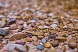 River pebbles in closeup - 234761327