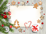 Wood holiday template - 234761723