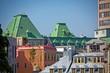 Rooftops Across City