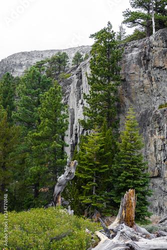 Rocky Walls in the Californian Northern Sierra - 234770148