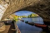 Richmond Bridge, Thames River, Richmond, London, UK