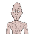original ugly man draw
