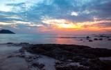 Sunset on Aow Yang from Chanthaburi Thailand © kittiyaporn1027