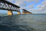 The old railway bridge at Bahia Honda at the Florida keys. © paulbriden