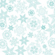 Vector Winter Background. A cold Christmas with snowfall and ice crystals - 234853512