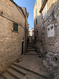 Alley in the old town of Sibenik © TellyVision