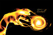 Abstract Flaming Art in Vector - 234883512
