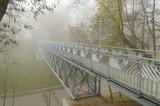 Iron bridge over the river. © borroko72