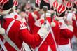 Leinwanddruck Bild - Karneval, Rosenmontag, Rosenmontagszug, Trommel
